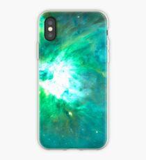 Orion Nebula [Green] | Fresh Universe iPhone Case