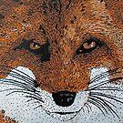 Foxy Pillow by azummo