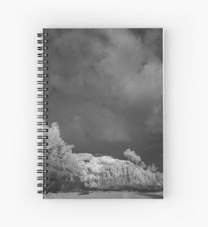 Secret Beach Spiral Notebook
