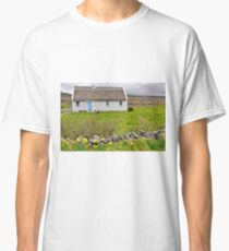 rural irish cottage in the burren countryside, county clare, ireland Classic T-Shirt