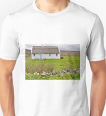 rural irish cottage in the burren countryside, county clare, ireland Unisex T-Shirt