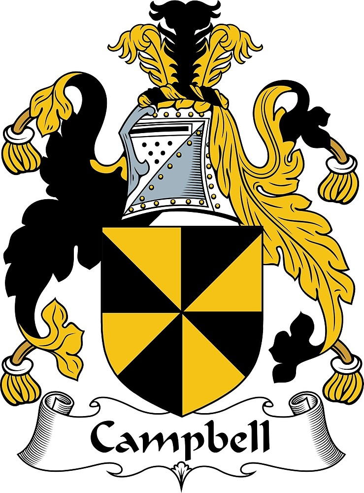 Campbell Coat of Arms / Campbell Family Crest by ScotlandForever