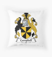Campbell Coat of Arms / Campbell Family Crest Throw Pillow