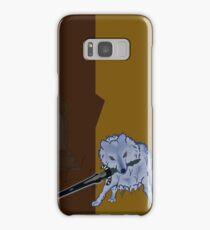 Great Grey Wolf Sif and Artorias Samsung Galaxy Case/Skin