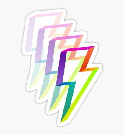 Neon Flash Sticker