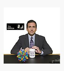 Steve Carell Photographic Print