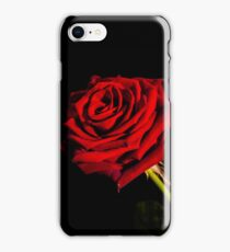 a red rose for a lady iPhone Case/Skin