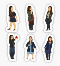 Every Clara Outfit Ever #2 Sticker