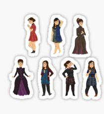 Every Clara Outfit Ever #3 Sticker