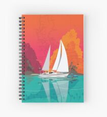 For Sail Spiral Notebook