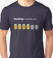 loading: wasted.exe T-Shirt