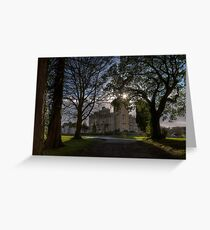 Dromoland Castle Hotel, County Clare, Ireland Greeting Card
