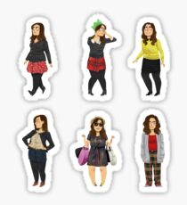 Every Clara Outfit Ever #4 Sticker