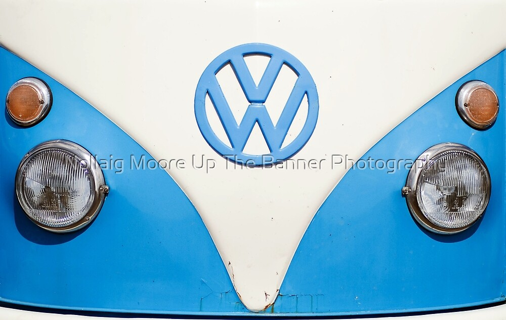 vw smile ;-) by Noel Moore Up The Banner Photography