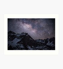 Milky Way in the High Sierra Art Print