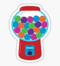 Retro Gumball Machine Sticker