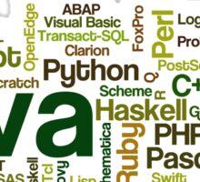 programming languages cloud Sticker