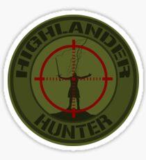 Highlander Hunter (OD version) Sticker