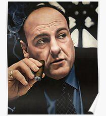 Tony Soprano  Poster