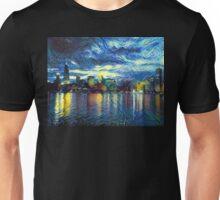 Starry Chicago Night Unisex T-Shirt