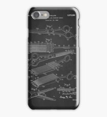 Vintage Hair Cutting Shears Patent 1942 iPhone Case/Skin