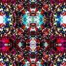 Kaleidoscope Candy One by Jef Harris