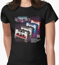 Sounds of the 80s vol.1 Women's Fitted T-Shirt
