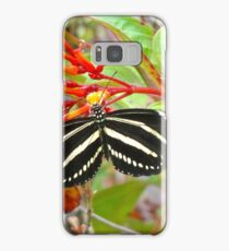 Zebra Longwing  Samsung Galaxy Case/Skin