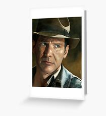 Harrison Ford - Indiana Jones Greeting Card
