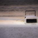 Bed on the Beach  by Bente Agerup