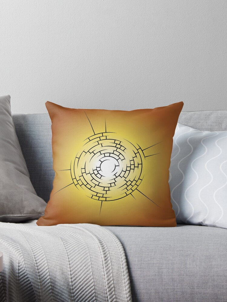 Helios 1 Throw Pillow By Saiphcharon Redbubble