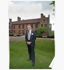 Ernest Noad Mayor of Bromley at Chartwell Poster