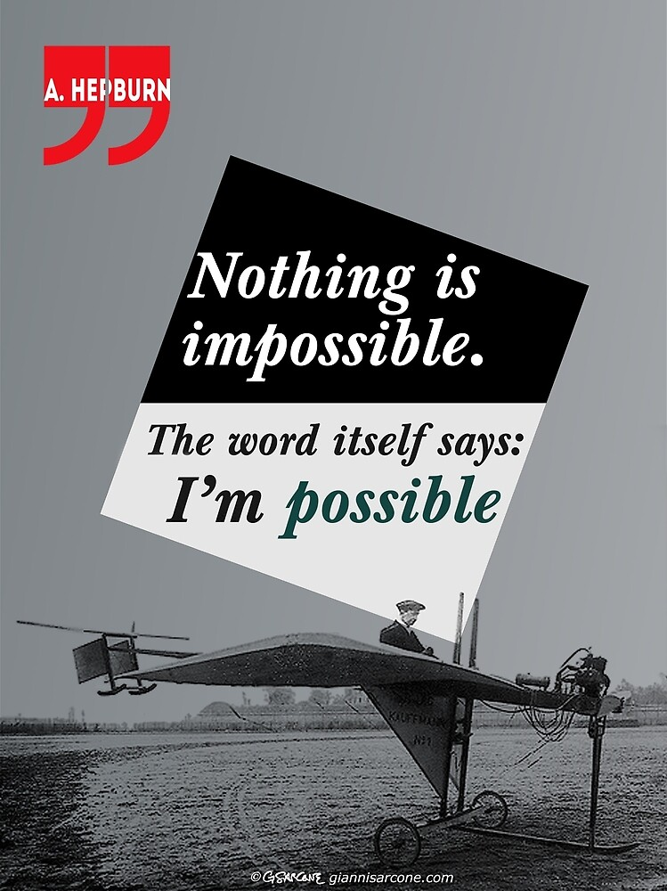 Nothing is Impossible by Gianni A. Sarcone