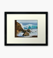 Translucent Framed Print