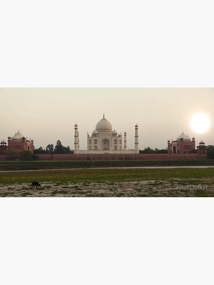 Taj Mahal at Sunset by JohnDalkin