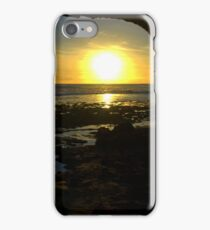 Watching the sun go down iPhone Case/Skin
