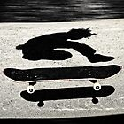 sandwiched skateboard by blacqbook
