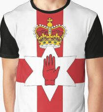 Northern Ireland Flag Graphic T-Shirt