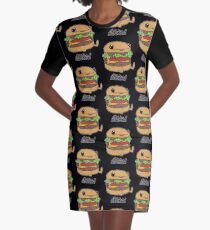Stacked Graphic T-Shirt Dress