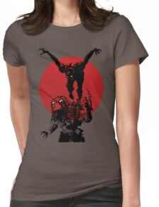 Blood Moon Womens Fitted T-Shirt
