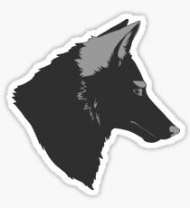 Sly Coyote Sticker