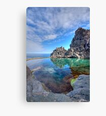 Bejewelled: Seixal, Madeira Canvas Print