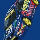 Andrew Jordan BTCC Honda Civic by RacingColour