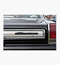 1965 Dodge Coronet Rear Photographic Print
