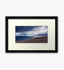 Pyramid Lake Sunrise Nevada Framed Print