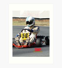DAP Kart WTR101 Clay Lopes Art Print