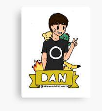 Danisnotonfire Canvas Print