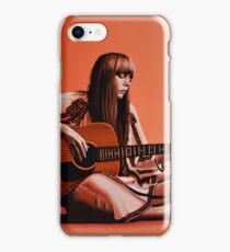 Joni Mitchell Painting iPhone Case/Skin