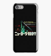 1997. New York City is now a maximum security prison. Breaking out is impossible. Breaking in is insane. iPhone Case/Skin