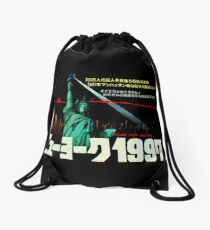 1997. New York City is now a maximum security prison. Breaking out is impossible. Breaking in is insane. Drawstring Bag